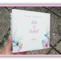 jual undangan pernikahan ornamen bunga jakarta selatan undangan nikah muslim tokopedia undangan pernikahan ornamen bunga