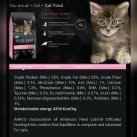 Equilibrio Kitten 7.5Kg/Makanan Kucing/Royal Canin/Proplan