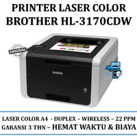Printer Brother HL-3170CDW Digital Color Printer with Wireless Network