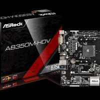ASRock AB350M-HDV AM4, AMD Promontory DDR4 USB3.0 SATA3 Mainboard