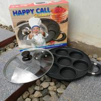 Cetakan Happy Call 7 Datar Lumpur, Martabak Mini