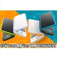 NINTENDO 2DS LL/XL CFW PERMANENT - LL ASIA 64 GB