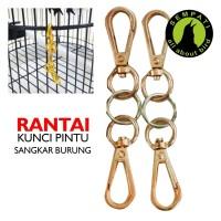 Harga rantai besi kunci pintu sangkar kandang burung | Hargalu.com