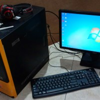 PC RAKITAN 2nd(MiddleEnd) INTEL Core I3-2100,RAM 4GB,HDD 128GB,MN-DELL