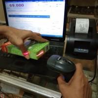 Paket Kasir Printer & Scanner & Software Solusi Toko 2.0