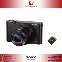 Sony DSC RX100 MARK III Hitam Kamera Pocket + Memory SD 8GB