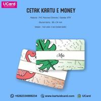 Termurah Cetak E-Money Custom 2 Sisi Proses Cepat