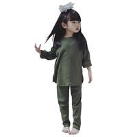 Mosfit Astrid Green Baju Setelan Anak Perempuan