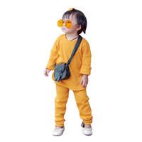 Mosfit Astid Yellow Mustard Baju Setelan Anak Perempuan