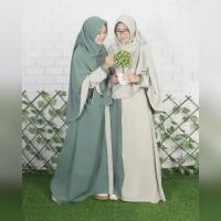 Berry Perdana size M by Hijab Alila khimar instan syari bolak balik