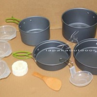 outdoor cooking set / nesting ds-301 cookingset