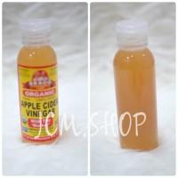 BRAGG Apple Cider Vinegar (Cuka Apel) Eceran 100ml 100% MURNI ORIGINAL
