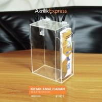 Kotak Amal N1 / Kotak Amal Akrilik / Akrilik Display / kotak AkriliK