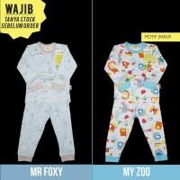 Pakaian Bayi Baju Sepatu Velvet Junior S M L Setelan Panjang Baju Tid