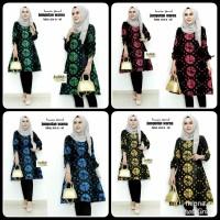 tunik batik jumputan warna