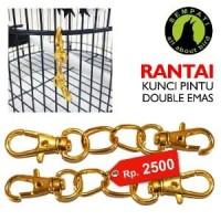 Harga rantai besi kunci pintu sangkar kandang burung burung d | Hargalu.com