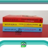 Paket Novel Terjemahan KEVIN KWAN (Crazy Rich Asian, China Rich