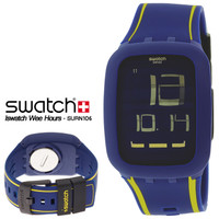 SWATCH ORIGINAL 100% SURN106 ISWATCH WEE HOURS MultiColor TouchScreen