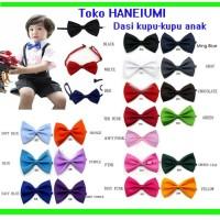 Dasi Kupu-kupu anak untuk cocokin baju kemeja, rompi, jas dll