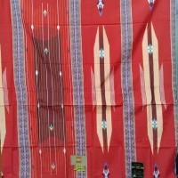 Sarung BHS SGT Sutera 50% GOLD warna Merah