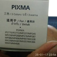 (Tinta Printer) Cartridge Canon CL-811 Original Color