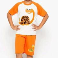 Kaos Pendek Baju Setelan Anak Laki-laki Little M SET Ab Berkualitas