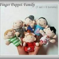Mainan Bayi edukatif   Boneka Jari Family keluarga Berkualitas 3e28090127