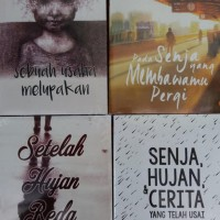 1 paket isi 10 Novel karya BOY CANDRA