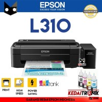 Printer Epson L310 Ink Jet Eco Tank Modif Pabrik Tinta Resmi Inkjet