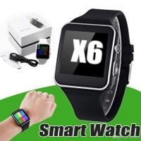 JAM PINTAR SMARTWATCH X6 ANDROID,IPHONE, APPLE,SIMCARD