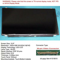 Layar LCD LED laptop MCI GP62 series 15.6 full HD 1080p
