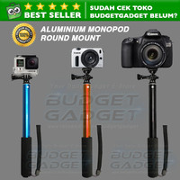 Tongsis Monopod Round Mount for Action Camera GoPro / Xiaomi Yi / Smar