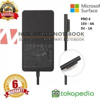 ADAPTOR CHARGER TABLET PC MICROSOFT SURFACE 4 PRO 4 15V 4A ORIGINAL