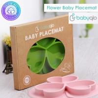 Piring Training Belajar Makan Mandiri - Baby Placemat Clover BabyQlo