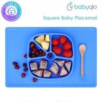 Piring Training Belajar Makan Mandiri - Baby Placemat Rect BabyQlo
