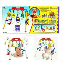mainan baby MUSICAL playgym musik play gym