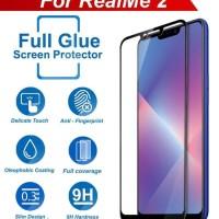 TEMPERED GLASS 5D OPPO REALME 2 / REALME 2 PRO FULL GLUE