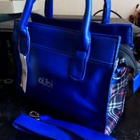 Tas fashion impor merk alibi warna biru