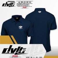(PROMO!!) Poloshirt / Kaos Polo Drone Dji Matrice 600 Pro Logo Murah