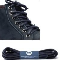 Tali Sepatu Lilin Bulat 80cm Tebal 5-6mm (Big Round Waxed)