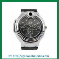Jam Tangan Analog Pria Korek Api Gas Mancis Butane Lighter Watch JH 02