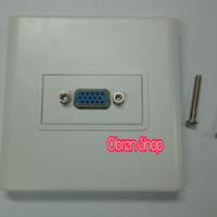 Faceplate VGA / Outlet VGA / Stop Kontak VGA