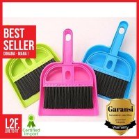 Sapu Pengki Mini Set / Mini Dustpan / Sapu Serok Mini