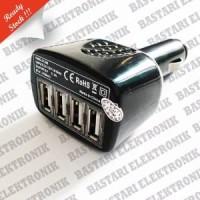 Charger car 4 USB good quality 2A-1A Berkualitas