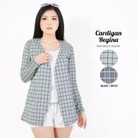 Cardigan cardy outet outwear motif square kotak kekinian hijabers
