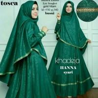 Jual Gamis Baju Pakaian Wanita Muslim Hanna Syari Harga Murah