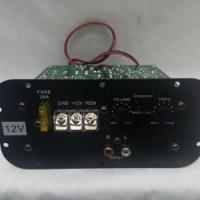 KIT AUDIO MOBIL BASS TUBE SUBWOOFER POWER AMPLIFIER DC Berkualitas