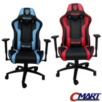 Rexus RGC-102 Gaming Chair Kursi Bangku Game for Gamer - Biru