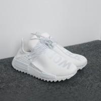 e89568ea9e2d4 Pharrell x Adidas NMD Hu Trail Black Canvas UA Quality - White