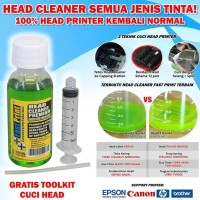 Head Cleaner Premium 100ML Pembersih Head Printer Epson Canon HP